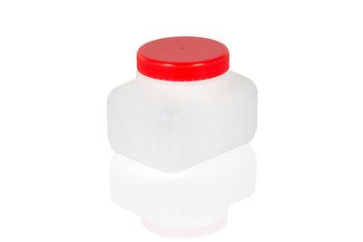 Vloeistofbakje - rode deksel
